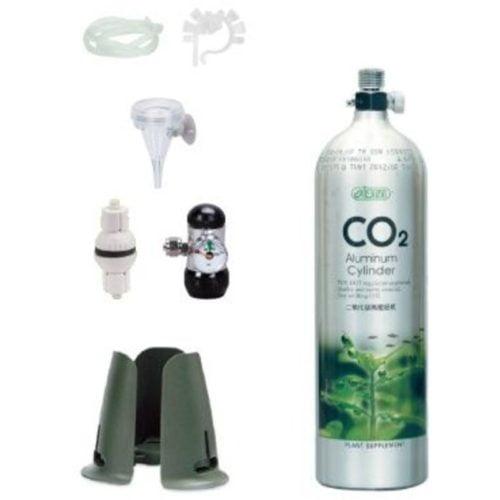 ISTA 0.5 L CO2 Aluminum Cylinder Set Face up - Basic 1