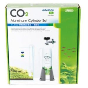 ISTA 1L CO2 Aluminum Cylinder Set Face-side - Advance