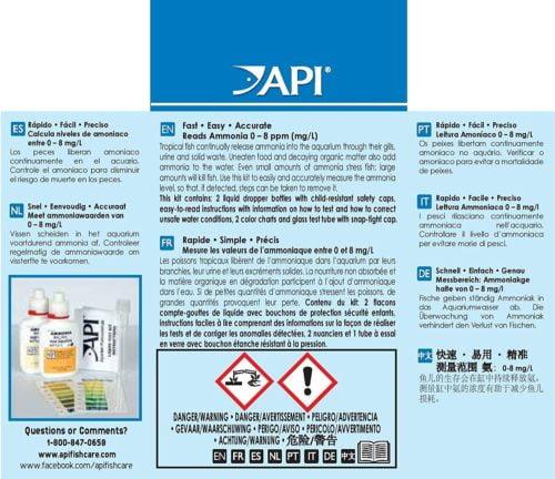 API Ammonia Test Kit 1