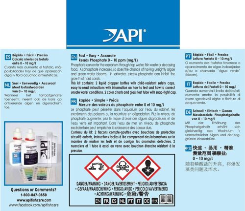 API Liquid Phosphate Test Kit 2