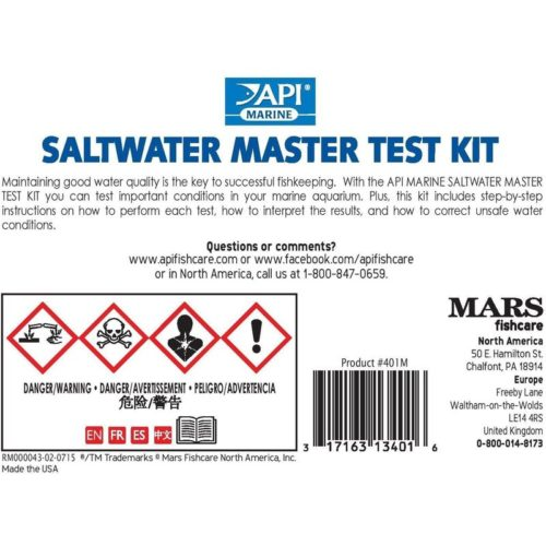 API Salt Water Master Test Kit 2