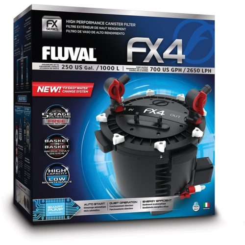 Fluval FX4 High Performance Canister Filter 1