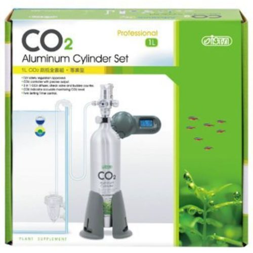 ISTA 1L CO2 Aluminum Cylinder Set - Professional (Face-Up) 1