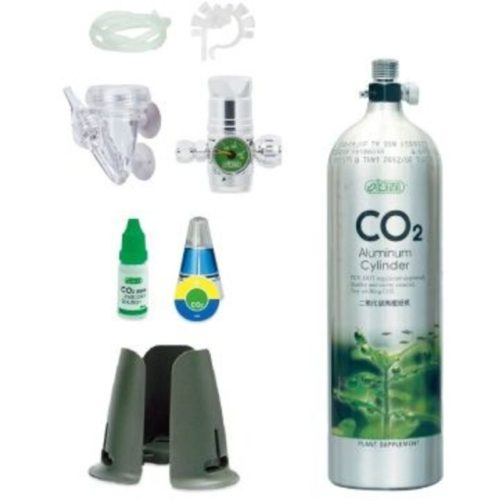 ISTA 0.5 L CO2 Aluminum Cylinder Set Face up 1
