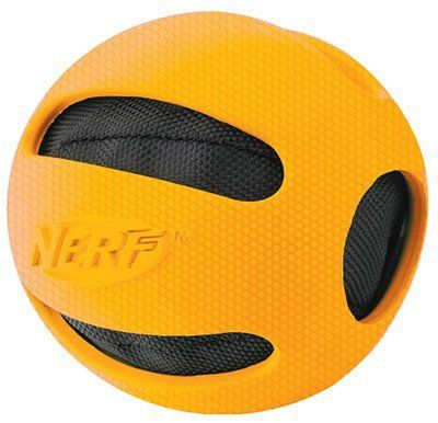 Nerf Dog Crunchable Checker Ball 4-inch 1