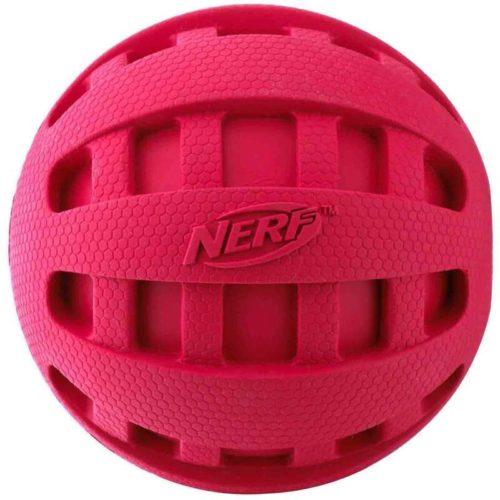 Nerf Dog Squeak Checker Ball 2.5-inch 2
