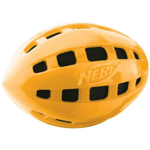 Nerf Dog TPR Crunchable Squeak Football 6-inch 3