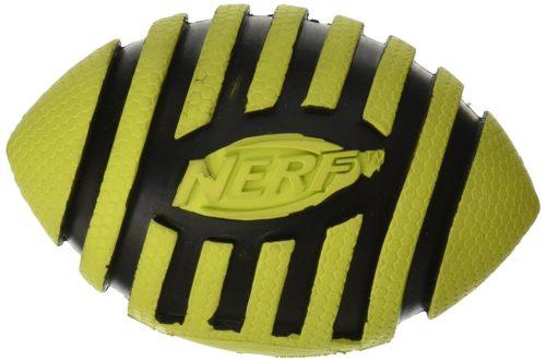 Nerf Dog Spiral Squeak Football 3.5-inch 1