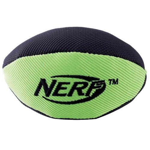Nerf Dog Trackshot Squeaker Football 7-inch 1