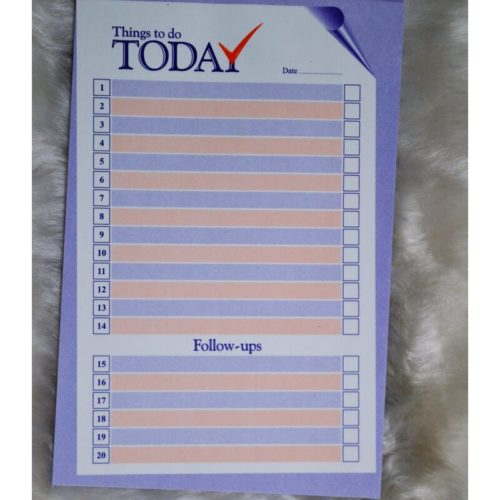 To Do List Pad 3