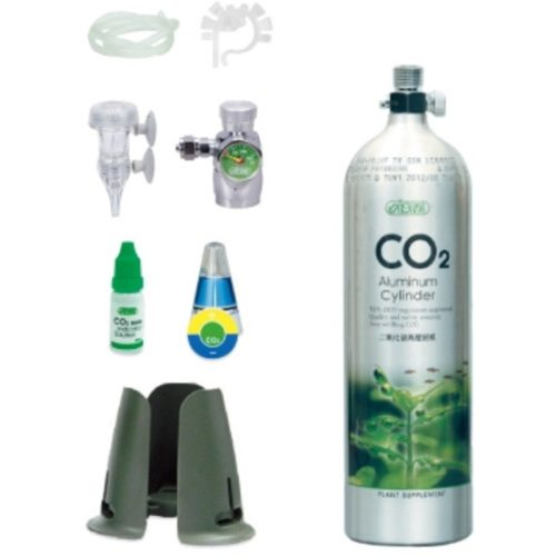 ISTA 1L CO2 Aluminum Cylinder Set Face up - Basic 1