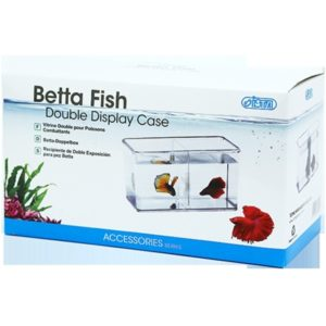 ISTA Betta Fish Double Display Case Indiefur.com