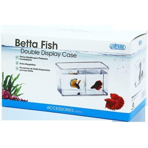 ISTA Betta Fish Double Display Case Indiefur.com