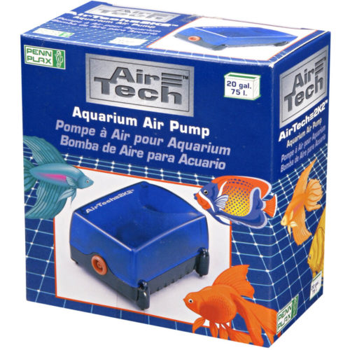 Penn-Plax Air-Tech 2K2 Aquarium Air Pump Indiefur.com