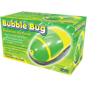 Penn-Plax Bubble Bug Aquarium Air Pump Indiefur.com