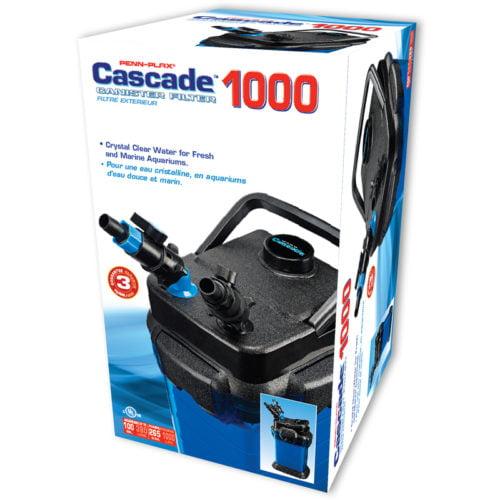 Penn-Plax Cascade 1000 Canister Filter Indiefur.com