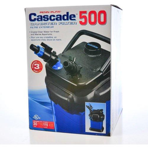 Penn-Plax Cascade 500 Canister Filter Indiefur.com