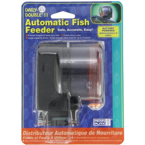 Penn-Plax Daily-Double II Automatic Fish Feeder 1