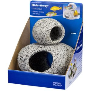 Penn-Plax Deco-Replicas Hide-Away Granite Stone Assortment Pack Indiefur.com