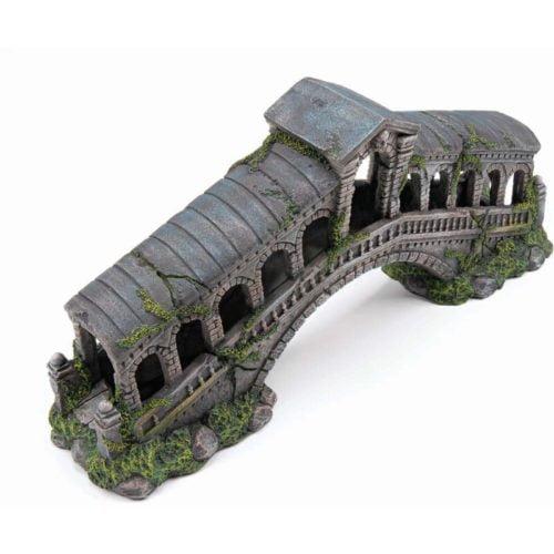 Penn-Plax Deco-Replicas Rialto Bridge Indiefur.com