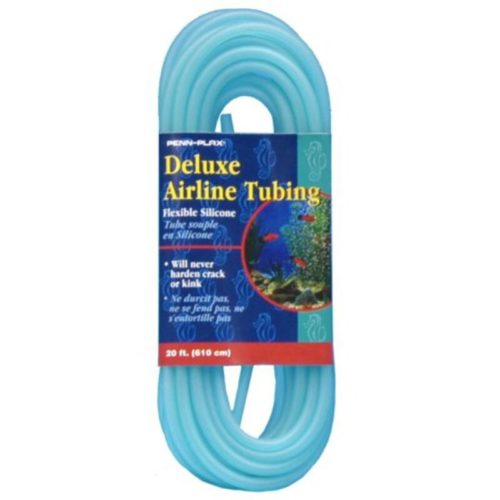 Penn-Plax Deluxe Airline Tubing Flexible Silicone - 20 Ft Indiefur.com