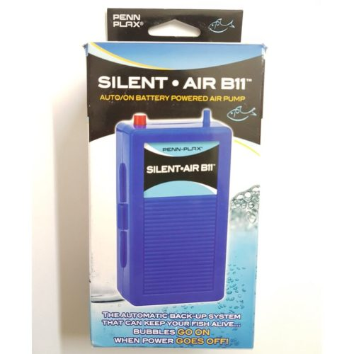 Penn-Plax Silent-Air B11 - AutoOn Battery Powered Air Pump Indiefur.com