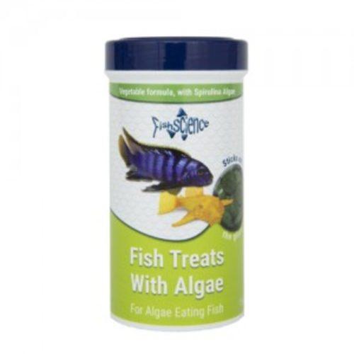 FishScience Fish Treats With Algae Indiefur.com