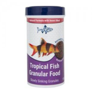 FishScience Tropical Granules Indiefur.com