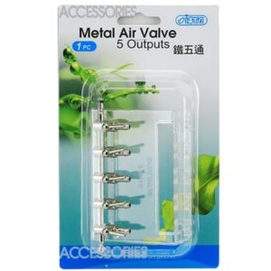 ISTA Metal Air Valve 5 Output Indiefur.com