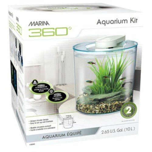 Marina 360 Cool Desktop Aquarium Indiefur.com