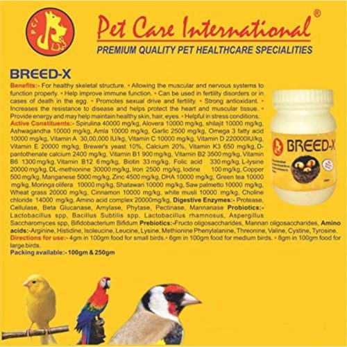 Pet Care International Breed-X 1
