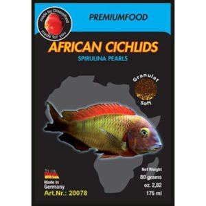 Exotica African cichlid Spirulina Indiefur.com