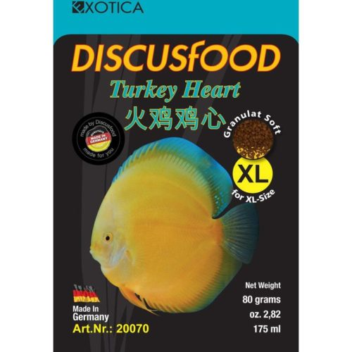 Exotica Discusfood Turkey Heart Fish Food Indiefur.com