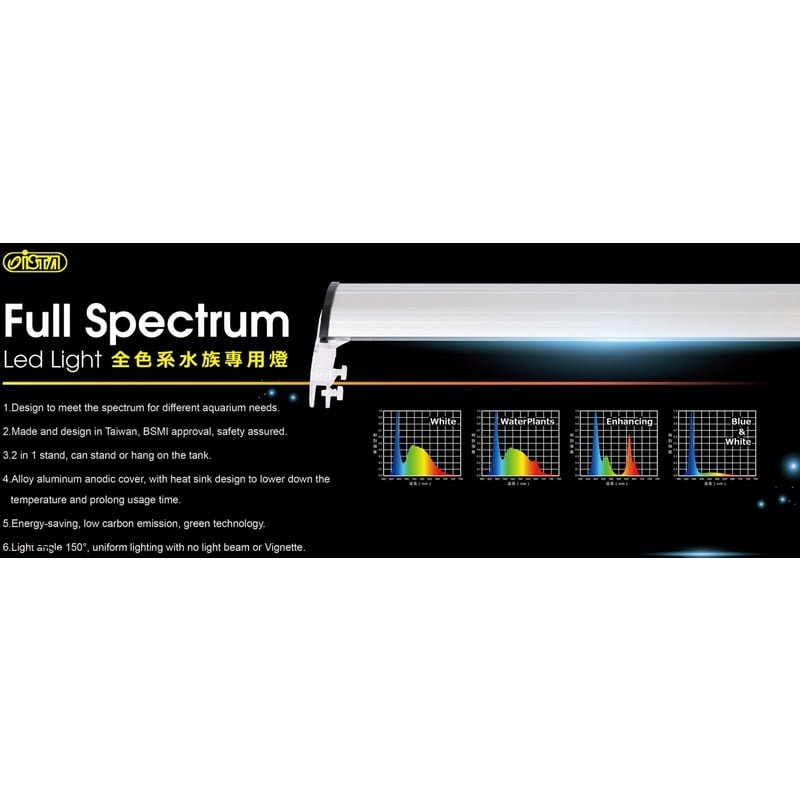 ISTA Full Spectrum LED Light - Water Plant