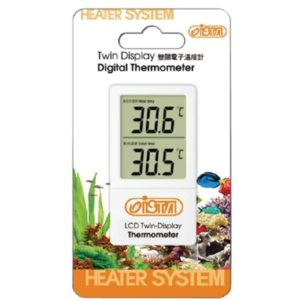 ISTA Twin Display Digital Thermometer Indiefur.com