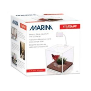 Marina Cubus Glass Betta Kit Indiefur.com