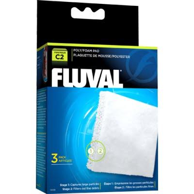 Fluval C2 Poly Foam Pad – 3 Pcs Indiefur.com
