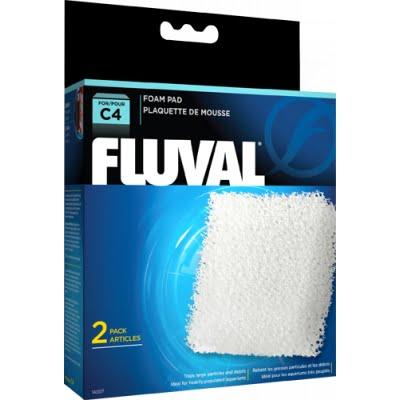 Fluval C4 Poly Foam Pad – 2 Pcs Indiefur.com