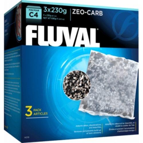 Fluval C4 Zeo-Carb Indiefur.com