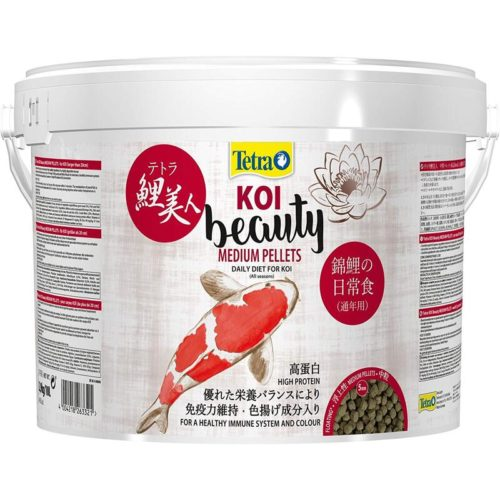 Tetra Pond Koi Beauty Medium Pellet 10L Indiefur.com