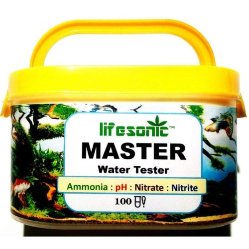 Lifesonic Master Test Kit for Aquarium 100 Tests pH Ammonia Nitrite Nitrate