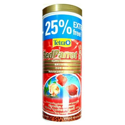 Tetra Red Parrot 400 gm 1250 ml Indiefur.com