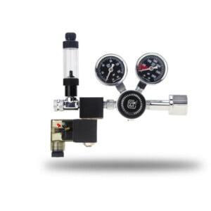 PRO-SE Series - Aquarium CO2 Dual Stage Regulator with Integrated Solenoid