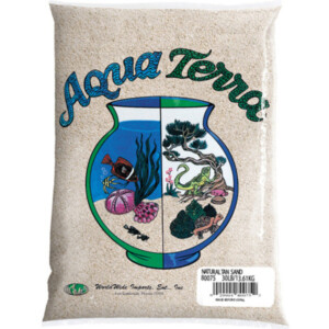 Natures Ocean Aqua Terra Natural Tan Aquarium Sand 2.7 Kg